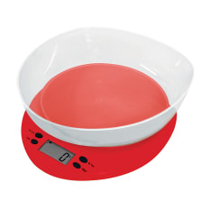 Casa Plastic Kitchen Scale with Bowl