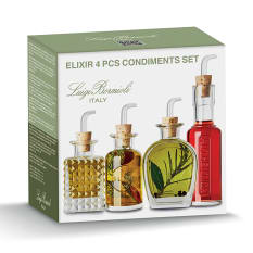 Luigi Bormioli Elixir Condiments, Set of 4