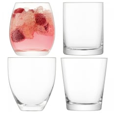 LSA International Lulu Tumbler Glasses, Set of 4