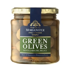 Morgenster Green Nocellara Olives, 290g