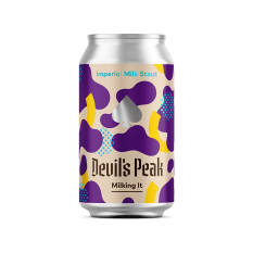 Devil's Peak Brewing Company Milking It Imperial Milk Stout, 330ml