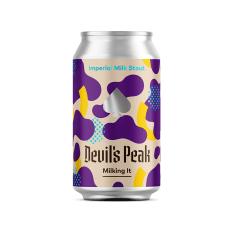 Devil's Peak Brewing Company Milking It Imperial Milk Stout, 330ml