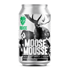Fierce Beer Moose Mousse Chocolate Milk Stout, 330ml
