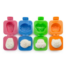 Ibili Accesorios Hard Boiled Egg Moulds, Set of 4