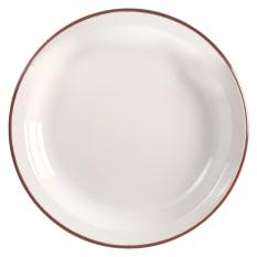 Ibili Red Enamel Dish