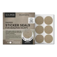 Sealpod Brewseal Paper Stickers For NCaps Teas & Powders