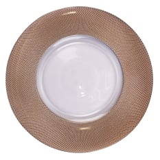 Nicolson Russell Regal Glass Charger Plate