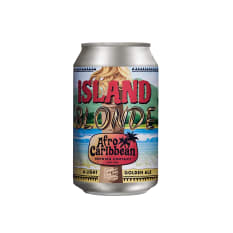 Afro Caribbean Brewing Co Island Blonde, 330ml
