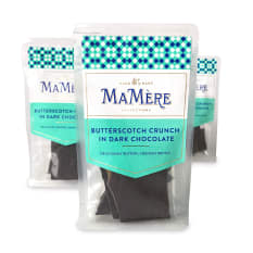 MaMere Confections Butterscotch Crunch in Dark Chocolate