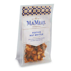 MaMere Confections Festive Nut Brittle, 80g