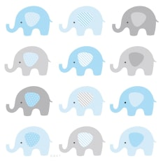 Rakt Bambino Collection Paper Placemats, Set of 24