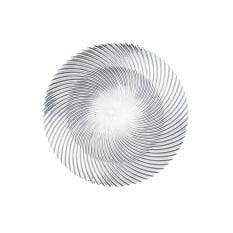Nachtmann Lead-Free Crystal Samba Round Plate, Set of 2
