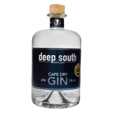 Deep South Distillery Cape Dry Gin, 750ml