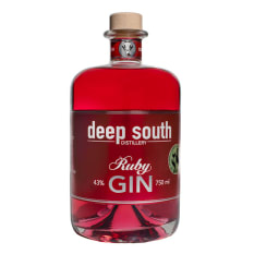 Deep South Distillery Ruby Gin, 750ml
