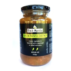 Black Mamba Foods Green Papaya Chutney, 440g