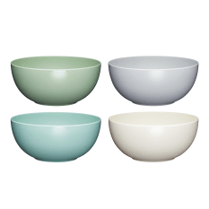 KitchenCraft Set of Four Melamine Bowls