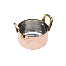 KitchenCraft Mini Copper Serving Dish with Handles, 8cm