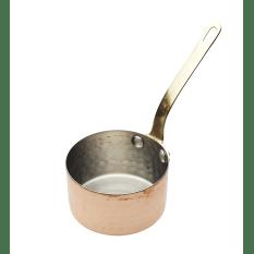 KitchenCraft Copper Finish Mini Serving Saucepan, 8cm
