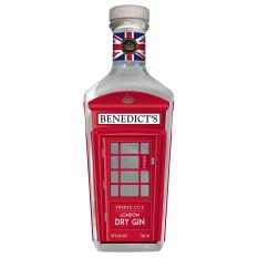 Premium Gin Benedicts London Dry Gin, 750ml