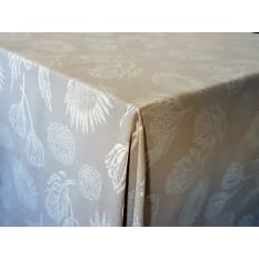 DSA Table Linen Specialists Seattle Protea Square Tablecloth