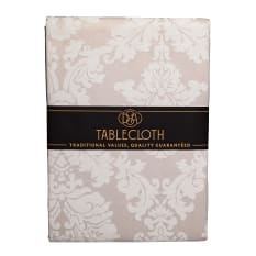 DSA Table Linen Specialists French Damask Round Tablecloth