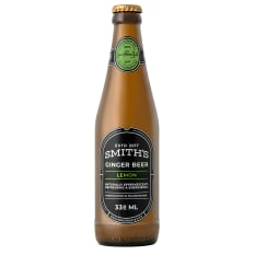 Smiths Ginger beer Lemon Ginger beer, Pack of 6