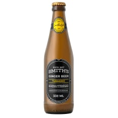 Smiths Ginger beer Turmeric Ginger beer, Pack of 6
