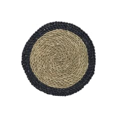 Creative Tops Naturals Round Woven Grass Placemats, Set of 2