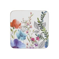Creative Tops Meadow Floral Premium Coasters, Pack of 6