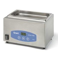 Grant Creative Cuisine Sous Vide Expert Sous Vide Water Bath with Lid, 5 Litres