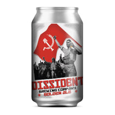 Dissident Brewing Company Golden Ale, 330ml