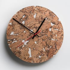Native Decor Round Cork Clock
