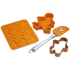 Kitchen Craft Gingerbread Man Baking Set, Set of 4