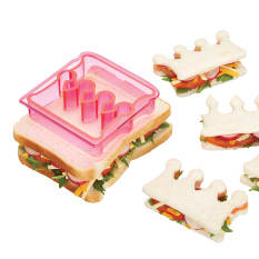 KitchenCraft Let's Make Sandwich Crust Cutter