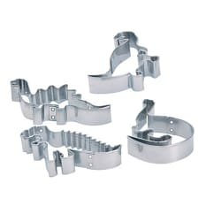 Kitchen Craft Metal Dinosaur Cutters