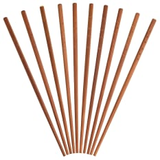 KitchenCraft Pure Oriental Bamboo Chopsticks, Pack of 10