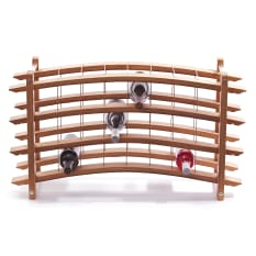 Laid Back Company French Oak Wine Rack