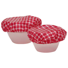 Kitchen Craft Plastic Food Bowl Covers, Set of 7