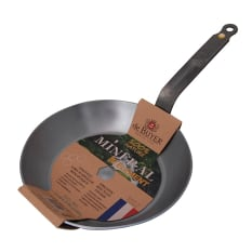De Buyer Mineral B Element Steel Frying Pan