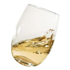 Govino Plastic White Wine/Cocktail Picnic Glasses, Set of 4