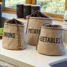 Kitchen Craft Hessian Vegetable Preserving Bag