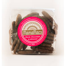 Mamamac's Dark Chocolate and Almond Biscuits, 400g