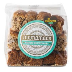 Mamamac's Bran and Multi-Seed Rusks, 400g