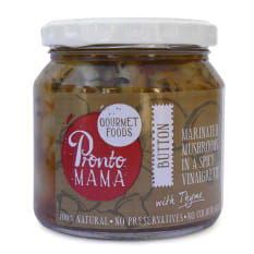 Pronto Mama Marinated Mushrooms in Vinaigrette, 260g