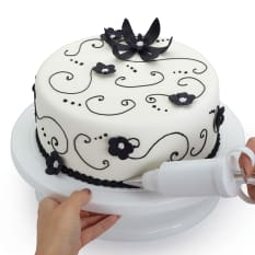 Sweetly Does It Revolving Cake Decorating Table, 28cm