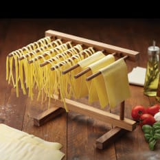 KitchenCraft World of Flavours Italian Pasta Drying Stand