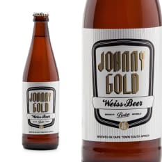 Boston Breweries Johnny Gold Weiss Beer