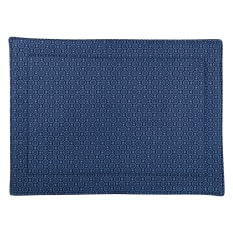 DSA Table Linen Specialists Navy Shweshwe Placemats, Set of 6