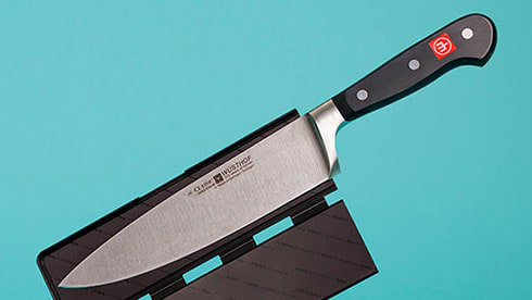Wusthof Chef's Knife with Blade Guard