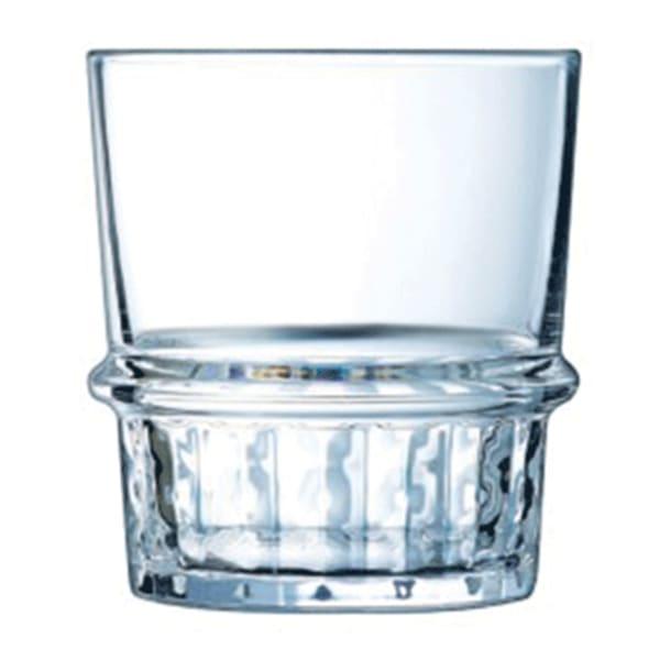 Arcoroc New York Whiskey Tumbler Glasses, Set of 6